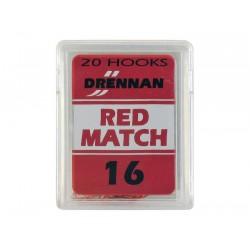 Haczyki Drennan Red Match nr. 18