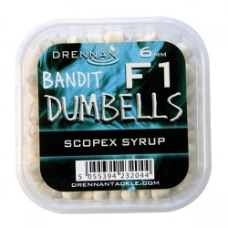Pellet drennan dumbells scopex syrup 6mm