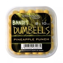 Pellet drennan dumbells pineapple punch 8 & 10mm