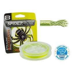 PLECIONKA SPIDERWIRE -150m color:yellow