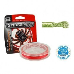 PLECIONKA SPIDERWIRE -150m color:red