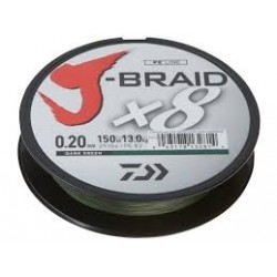 PLECIONKA DAIWA J-BRAID 8 X 150M- GREEN