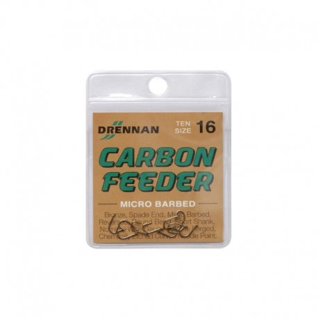 Haczyki Drennan Carbon Feeder - roz.20