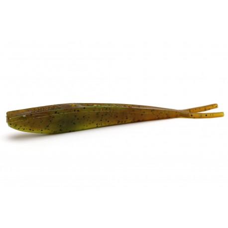 GUMA MANNS Q-FISH 13 CM - PUMPKINSEED CHARTREUSE