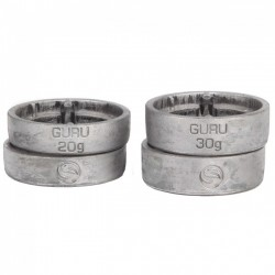 CIĘŻAREK GURU X-CHANGE DISTANCE CAGE LIGHT WEIGHTS 20GR -2 SZT ,30 GR-2 SZT
