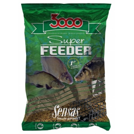 3000 ZANĘTA SUPER FEEDER LAKE BLACK 1KG