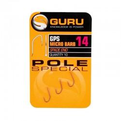 Haczyki Guru Pole Special Micro Barb - roz. 16