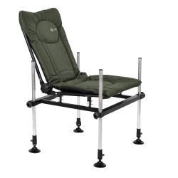 Fotel Wędkarski F3 Cuzo aluminiowy Elektrostatyk - waga tylko 6,3kg